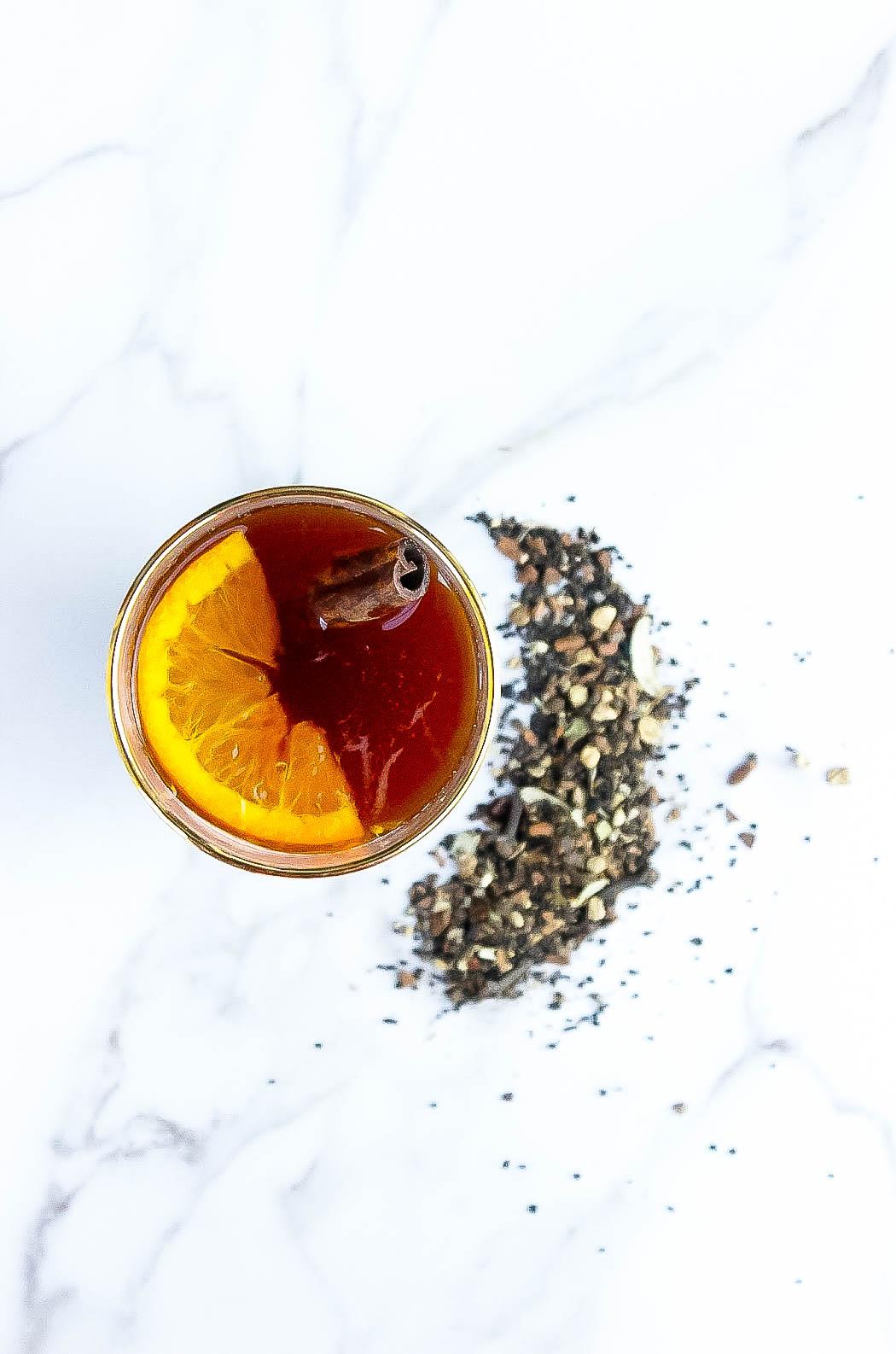 Tea Cocktail: Masala Chai Old Fashioned